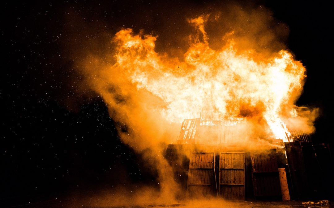 Incendios en el hogar en España