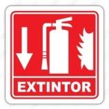 señal extintor