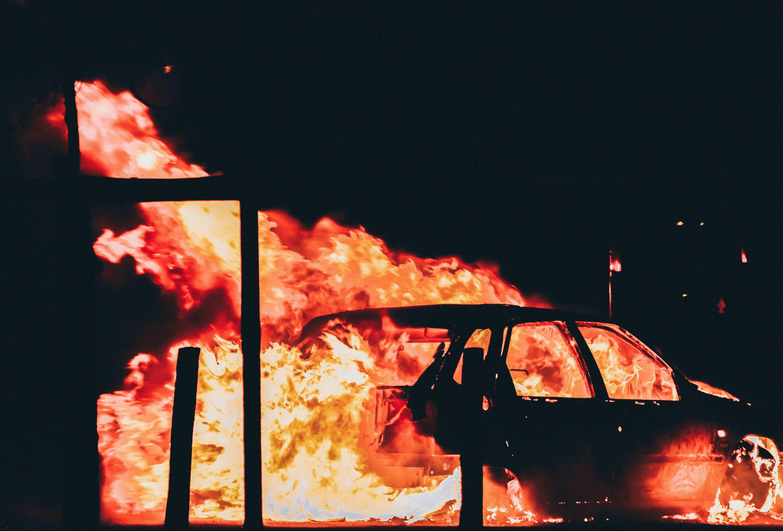 Incendio en neumáticos - Drexmin