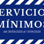 Servicios mínimos según Real Decreto-ley 10-2020, de 29 de marzo - Dremin sistemas contra incendios