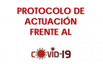 Protocolo de actuación frente a la COVID-19