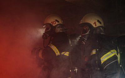 Toxicidad de humos en un incendio