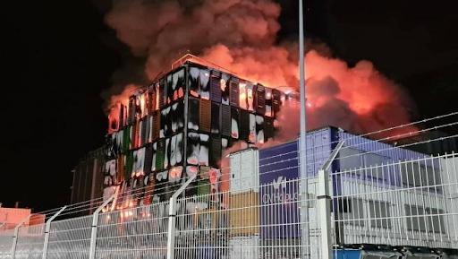 Incendio data center OVHCloud